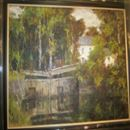"STUNNING OIL ON BOARD ""CANAL"""