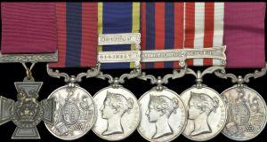 Sale of Irish war hero's medal