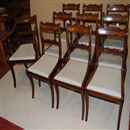 Set of George V Mahogany Chairs