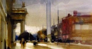 Watercolours in Dun Laoghaire show
