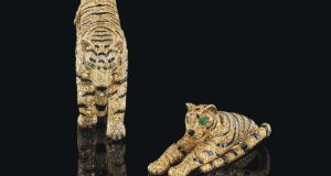 'Great cat' Cartier jewels out of the ...