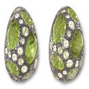 LOT:140 | A PAIR OF PERIDOT